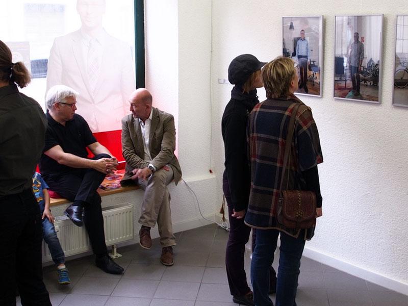 Die Nacht der Kunst: Zeit für Begegnungen; hier das Bürgerbüro »Jedermanns«, GSS 133.
