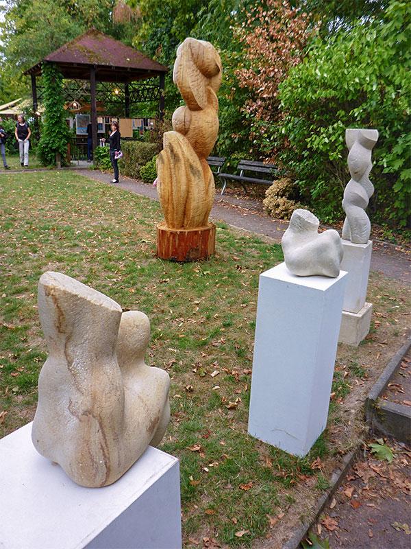 Budde-Haus und Skulpturengarten beteiligten sich in bewährter Form mit Ausstellungen, Lesungen und Aktionskunst.